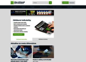 Ako-uctovat.sk thumbnail