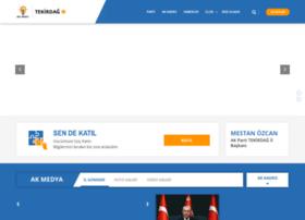 Akpartitekirdag.org.tr thumbnail