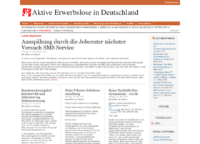 Aktive-erwerbslose.net thumbnail