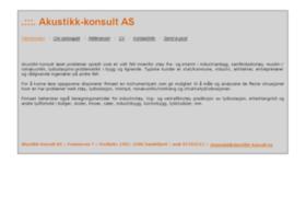 Akustikk-konsult.no thumbnail
