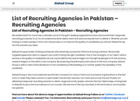 Alahadrecruitmentgroup.com thumbnail