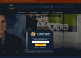 Alamedacountysheriff.org thumbnail