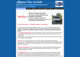 Albanyaerials.co.nz thumbnail