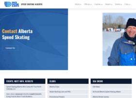 Albertaspeedskating.ca thumbnail