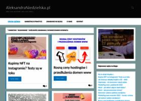 Aleksandraniedzielska.pl thumbnail