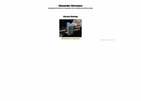 Alexander-herrmann.eu thumbnail