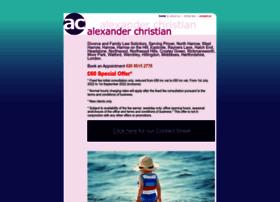 Alexanderchristian.co.uk thumbnail