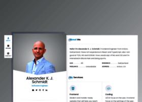 Alexanderschmidt.info thumbnail