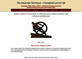 Alexandertechniquesurrey.co.uk thumbnail