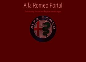 Alfa-romeo-portal.de thumbnail