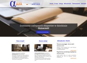 Alfa-tlumaczenia.pl thumbnail