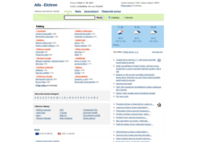Alfa.elchron.cz thumbnail