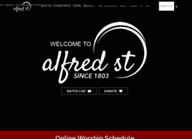 Alfredstreet.org thumbnail