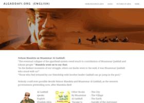 Algaddafi.org thumbnail