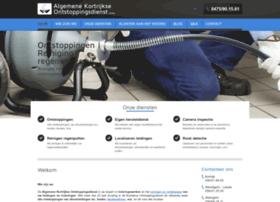 Algemene-kortrijkse-ontstoppingsdienst.be thumbnail