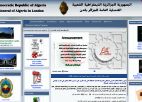 Algerian-consulate.org.uk thumbnail