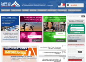 Algerie.campusfrance.org thumbnail