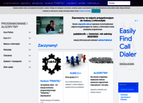 Algorytm.edu.pl thumbnail