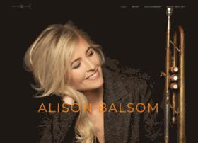 Alisonbalsom.com thumbnail