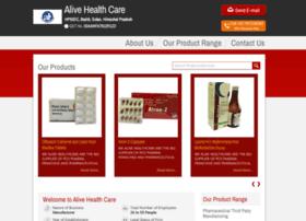 Alivehealthcare.net thumbnail