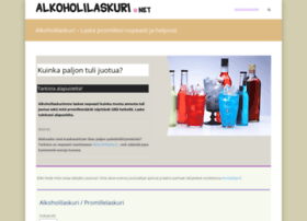 Alkoholilaskuri.net thumbnail