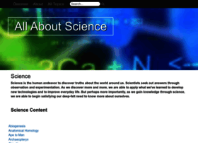 Allaboutscience.org thumbnail