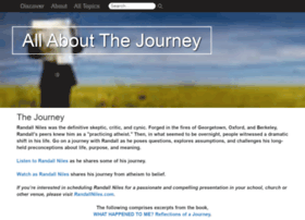 Allaboutthejourney.org thumbnail