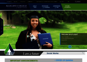Blackboard Allegany College