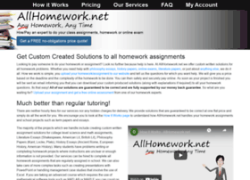 Allhomework.net thumbnail