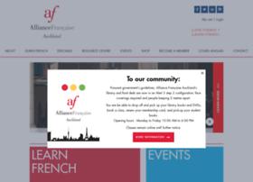 Alliance-francaise.co.nz thumbnail