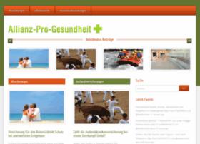 Allianz-pro-gesundheit.de thumbnail