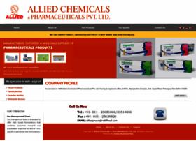 Alliedpharmaceuticals.com thumbnail