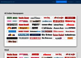 Allindianewspaperlist.com thumbnail