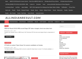 Allindianresult.com thumbnail