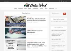 Allindiaword.net thumbnail