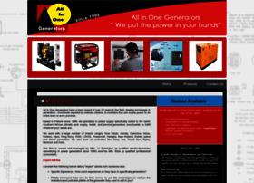 Allinonegenerators.co.za thumbnail