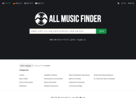 Allmusicfinder.co.kr thumbnail