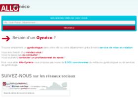 Allo-gyneco.org thumbnail