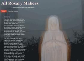 Allrosarymakers.com thumbnail