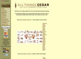 Allthingscedar.com thumbnail