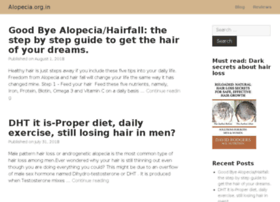Alopecia.org.in thumbnail