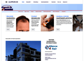 Alopezie.de thumbnail
