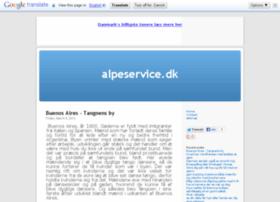 Alpeservice.dk thumbnail