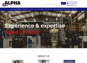 Alpha-adhesives.co.uk thumbnail