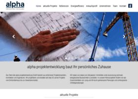 Alpha-projektentwicklung.de thumbnail