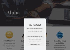Alphacustomwritingservices.com thumbnail