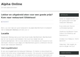 Alphaonline.nl thumbnail