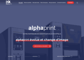Alphaprint.fr thumbnail