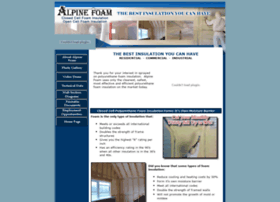 Alpinefoam.net thumbnail