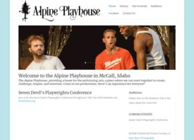Alpineplayhouse.org thumbnail
